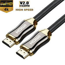 New 1-3M Premium HD HDMI Cable v2.0 High Speed for Bluray XBOX PS4 LCD DVD HDTV