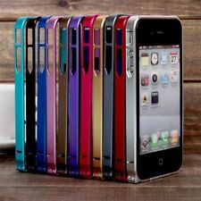 0.7mm Ultra Thin Metal Aluminum Bumper Case Cover Frame for iPhone 5 5S, 4 4S