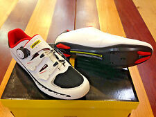 Mavic Ksyrium Pro II - White/Black/Red - Men's Carbon Cycling Shoes