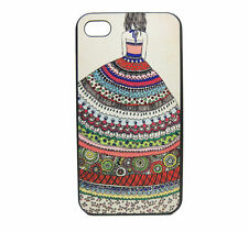 Fashion colorful totem dress Pattern Cover Cases Skins for iPhone 5 5S SE 4 4S