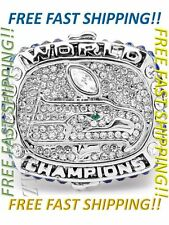 2013 Seattle Seahawks Russell Wilson Championship Ring Super Bowl Size 9 - 13