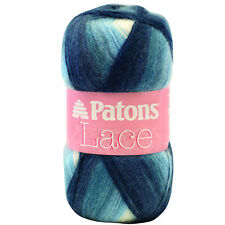 Patons Lace Yarn, Fine, 85g / 3 oz, 80% acrylic, 10% mohair, 10% wool