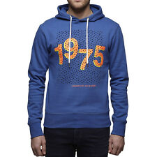 6185 Jack & Jones Men's Jason Sweat Hooded blue Sweatshirt sweater