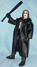 "STING WWE DEFINING MOMENTS ELITE MATTEL 7"" FIGURE IN GOOD CONDITION THE CROW WCW"