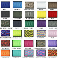 550 Paracord Parachute Cord Lanyard Mil Spec Type III 7 Strand Core 100 Feet RB