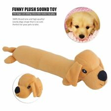 Pet Dog Cats Biting Chew Bite Molar Toy Play Funny Plush Sound Toy Great Gift BA