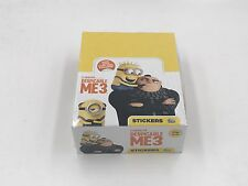 Topps Despicable Me 3 Stickers 9, 18, 27 Packets or Sealed Full Box 36 Packs