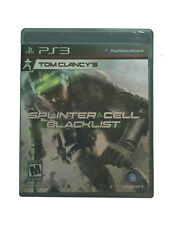 Tom Clancy's Splinter Cell: Blacklist (Sony PlayStation 3) PS3 new sealed game