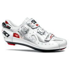 SIDI Ergo 4 Carbon Mega(Wide Fit) Road Cycling Shoes - White, Size 40 ~ 45 EUR