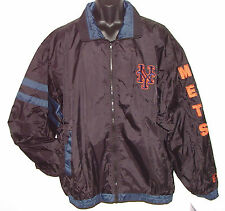 Vintage 90's New York METS Windbreaker JACKET SEWN Letters NWT NEW Old Stock 2XL