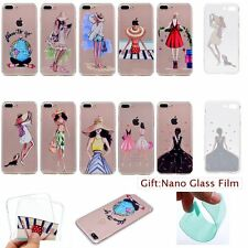 SLIM THIN Fashion Model Design SOFT RUGGED Back Case Cover Skin For Apple iPhone