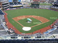 1-4 San Francisco Giants @ San Diego Padres 2017 Tickets 8/30/17 Petco UI301 R 9