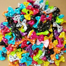 Wholesale 3.5cm Bow Hair Alligator Clips Girls Ribbon Kids Sides accessories