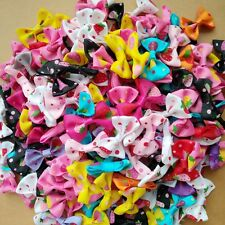 Wholesale Baby Girl Hair Clip Bow Flower Barrettes Party Kids Hairpins Headwear