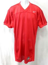 College Authentic Blank Football Jersey All Red