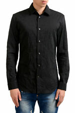 Maison Martin Margiela '14' Men's Black Long Sleeve Dress Shirt Sz 15.75 16
