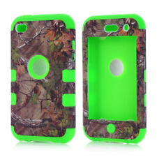 Hybrid Shockproof Hard Rubber Soft Cover Skin For Apple iPod Touch 4 4th Case