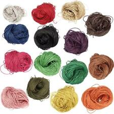80 Meters Waxed Cotton Cord Bundle 1.5mm for Jewelry Making String Thread