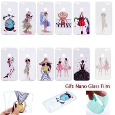 ULTRA THIN Fashion Vogue SOFT RUGGED Back Case Cover Skin For HUAWEI Smartphone