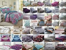 New Duvet Cover with Pillow Case Quilt Bedding Set Single Double King Super King
