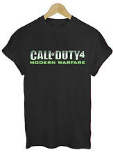 B166 Call Of Duty 4 Modern Warfare Call Of Duty Xbox PS3 BO3 Nuk t shirt top tee