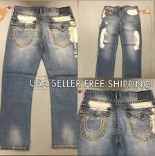 * NWT * True Religion Ricky With Flap Super T Mens Jeans FREE SHIPPING