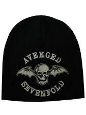 Avenged Sevenfold Death Bat A7X Black Beanie Hat