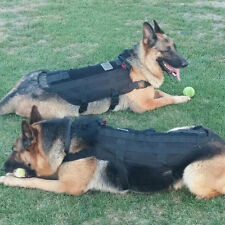 Tactical Outdoor Military Dog Clothes Load Bearing Training Vest Harness TE