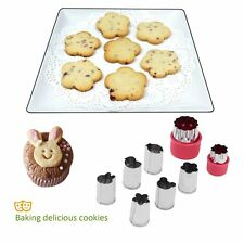 8pcs Stainless Steel Biscuit Pastry Cookie Cutter Cake Decor Mold Mould TooTO