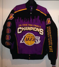 Los Angeles Lakers Champions Cotton Twill Jacket by GIII-Commemorative Jacket