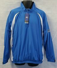 Mens Mizuno Windlite 1/4 Zip Showertop 93WT820-22 Royal/White Brand New
