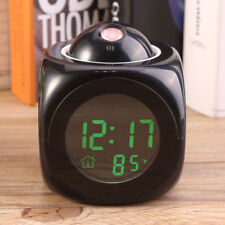 Digital Alarm Clock LED Wall/Ceiling Projection LCD Digital Voice Talking BEUS