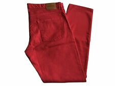 Lacoste Stretch Slim Fit Men's button-fly Blue or Red Jeans with Classic Waist