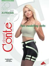 CONTE Tights X-Press 20 Den | Shaping Modelling Pantyhose | FREE Shipping