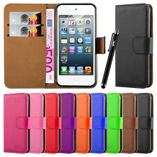 Apple iPod Touch 6th 5th Generation Case Cover Flip Wallet Leather Magnetic Card