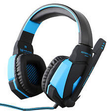 NEW Gaming Headset Surround Stereo Headphone USB 3.5mm LED With Mic For PC FAST