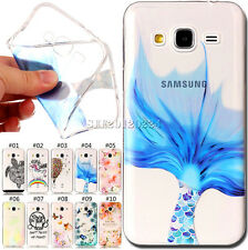 Embossed Soft Silicone Gel TPU Skin Back Cover Case For Samsung Galaxy J3(2016)