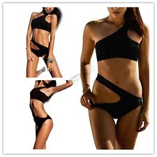 Women's One-Piece Bandage Bikini Push Up Monokini Swimsuit Bathing Suit Swimwear