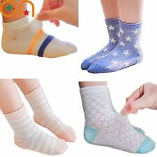 0-10 years 5pairs/lot Spring Summer new Kids Cute Infant Baby Sock Boy Girl Ultr