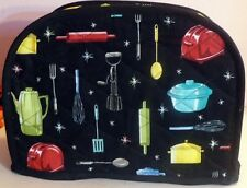 Quilted Toaster Cover Utensils Made to Order SEND YOUR MEASUREMENTS!!