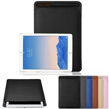 """Leather Protective Pouch Case Cover Pencil Holder for Apple iPad Pro 9.7"""" 10.5"""""""