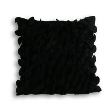 Amalfi Black  Cushion Covers/ Filled Cushions feather inner cushions 45 x 45cm
