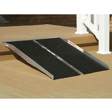 Prairie View Industries Single Fold WHEELCHAIR Ramp , with 7 Size Options!