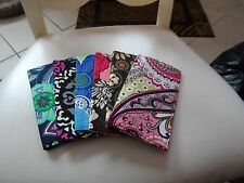 Vera Bradley Checkbook cover - New without tags - choice    set 2