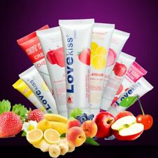 Fruit Flavor Edible Wet Slippery Body Lubricant Lube For Sex -Pick Flavor & Size