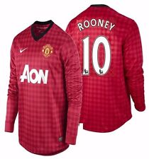 NIKE WAYNE ROONEY MANCHESTER UNITED LONG SLEEVE HOME JERSEY 2012/13.