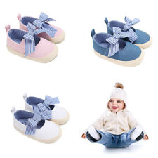 Baby Girl Soft Sole Shoes Dots Bowknot Toddler Anti-slip Shoes Newborn