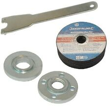 Cutting & Grinding Discs & Flange Nuts & Spanner for Angle Grinder 22.23mm bore