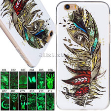 Fashion Fluorescence Gel Soft TPU Case Cover For Apple iPhone 6 Plus/6S Plus