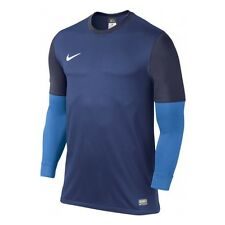 $90 NIKE CLUB GOALIE II 2 GK GOALKEEPER MENS SOCCER JERSEY M/MEDIUM BLUE 520580